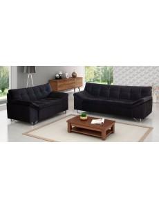 Sofa Estofado 2 e 3 Lugares Marica