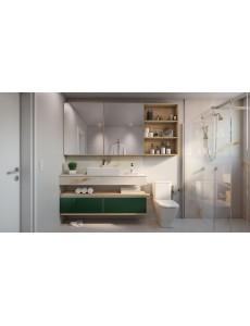 Banheiro Projetado Rimo (Verde)